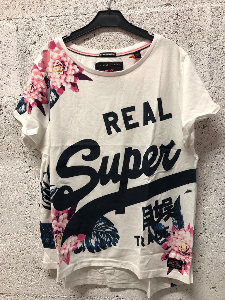 Tee-shirt superdry femme