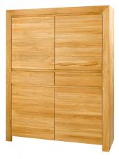 armoire cuisine 4 portes teck massif reference ts arm4p2t. Black Bedroom Furniture Sets. Home Design Ideas