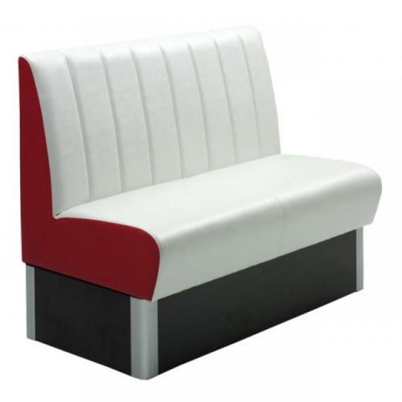 banquette de bar model rang rouge blanc comparer les prix. Black Bedroom Furniture Sets. Home Design Ideas