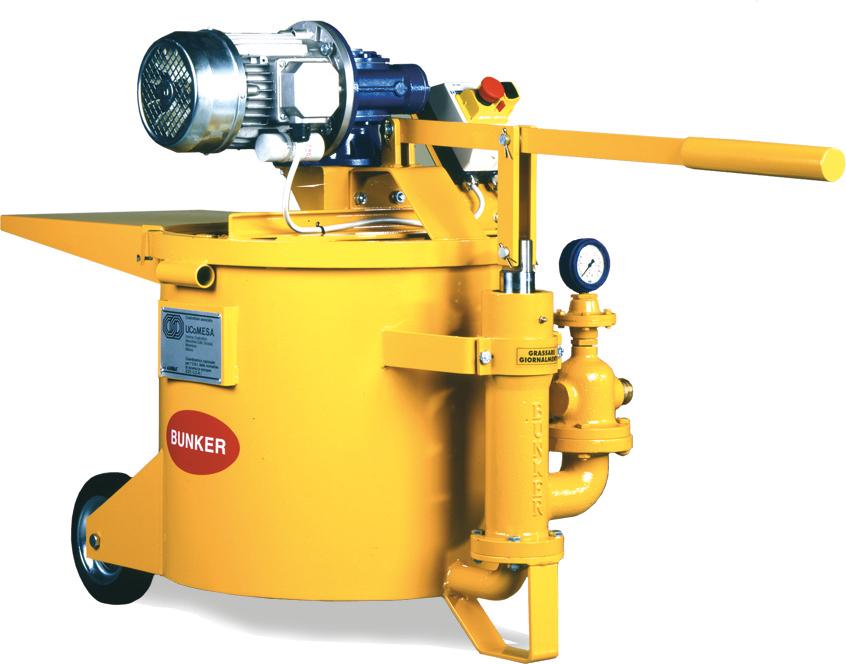 Pompe pour injections de ciment b1e