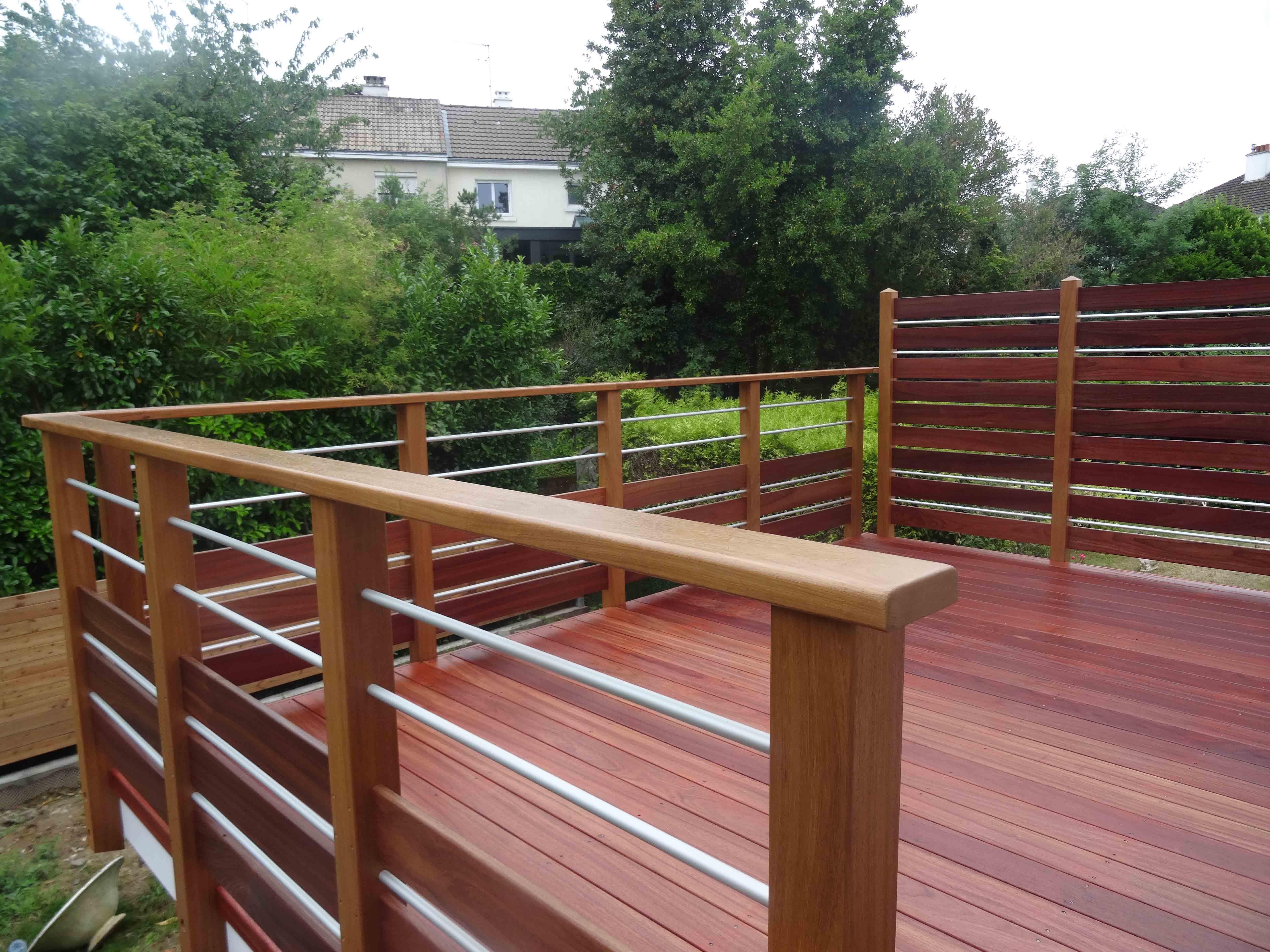 Terrasse En Bois Exotique terrasse bois exotique