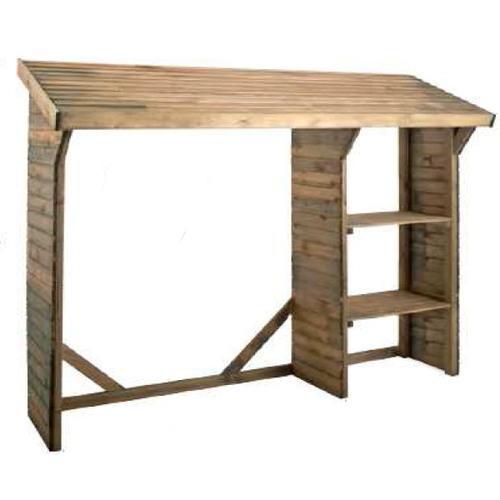abri en bois pour b ches 1 6 st res comparer les prix de abri en bois pour b ches 1 6 st res sur. Black Bedroom Furniture Sets. Home Design Ideas