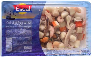 COCKTAILS DE FRUIT DE MER