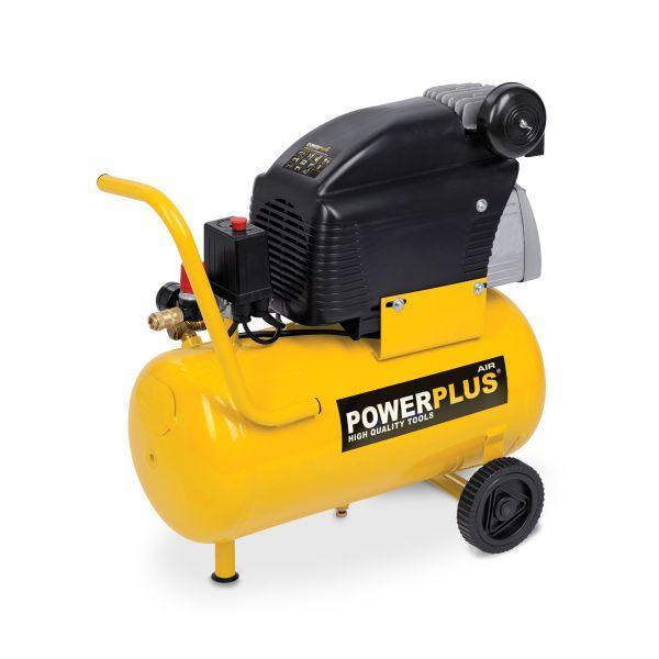 compresseur 1100w 24l lubrifie acc powx1735 powerplus va01 comparer les prix de compresseur. Black Bedroom Furniture Sets. Home Design Ideas