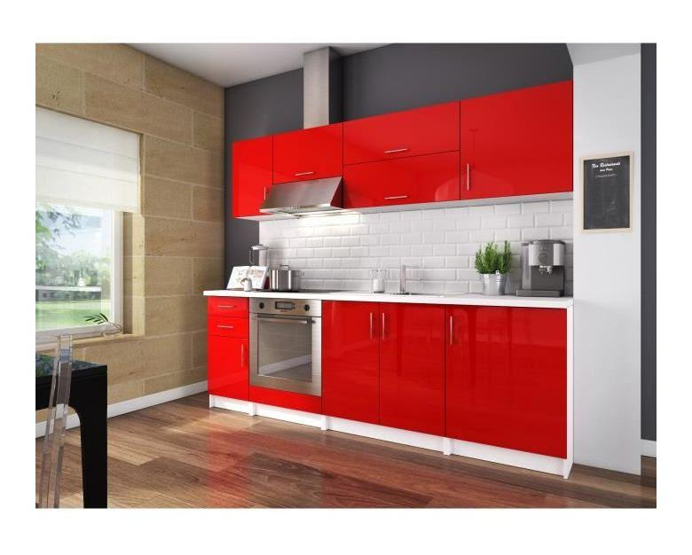 Cuisine compl te swithome b ril rouge 240 comparer les - Cuisine complete rouge ...