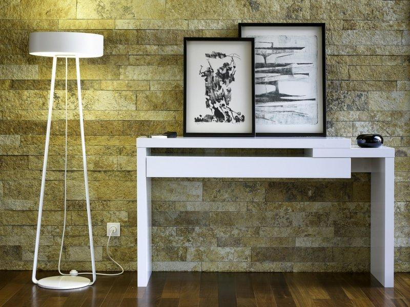 Temahome Reef Meuble Console Design Laquee Blanc