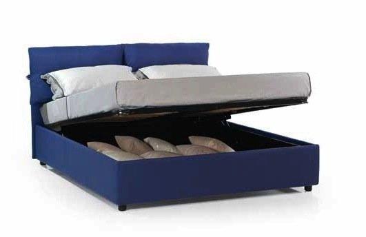 lit coffre design vittoria couchage 160 200cm. Black Bedroom Furniture Sets. Home Design Ideas