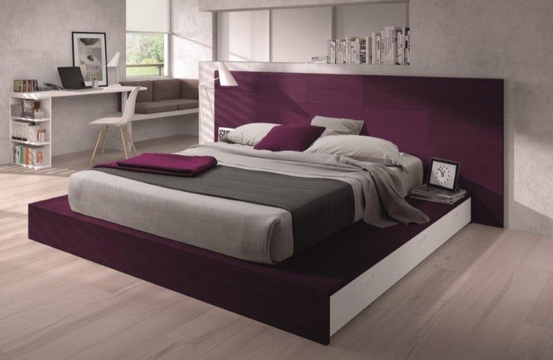 chambre tatami design lona couchage 140 x 190. Black Bedroom Furniture Sets. Home Design Ideas