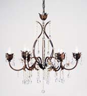 lustre baroque ref 16150 ro 6. Black Bedroom Furniture Sets. Home Design Ideas
