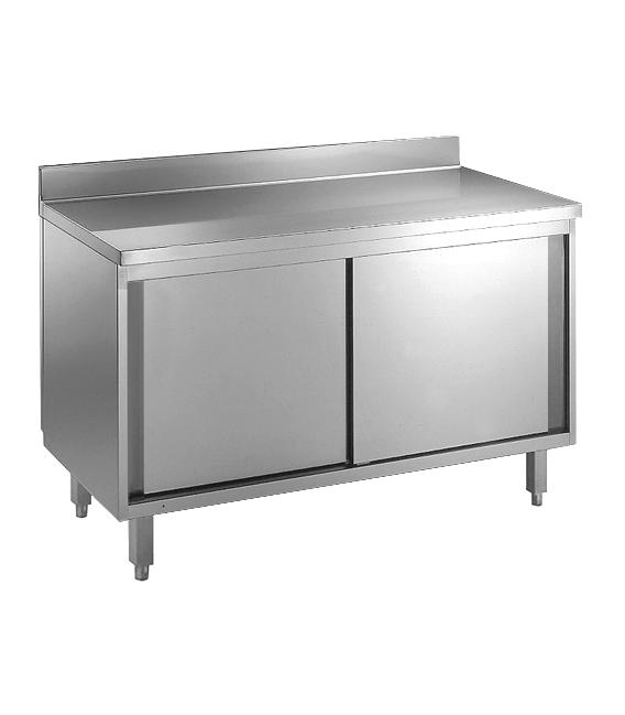 placard 1800x600x850mm acier inox 304 18 10. Black Bedroom Furniture Sets. Home Design Ideas