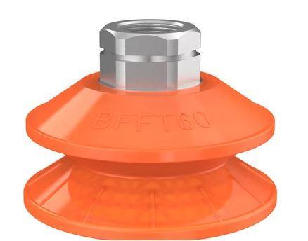 Ventouse ronde bfft60p-2 polyurethane 60/60/30