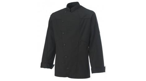 Veste de cuisine homme azotshow black molinel couleurs