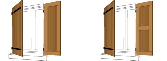 volets battants cadre vc opalines. Black Bedroom Furniture Sets. Home Design Ideas