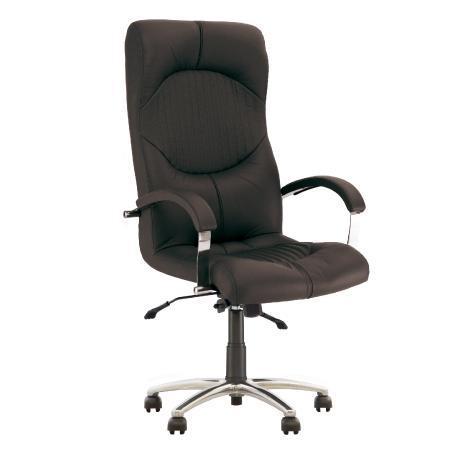 Hermes fauteuil de direction ergonomique, synchrone. noir