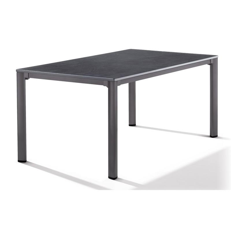 table aspect ardoise anthracite comparer les prix de table aspect ardoise anthracite sur. Black Bedroom Furniture Sets. Home Design Ideas