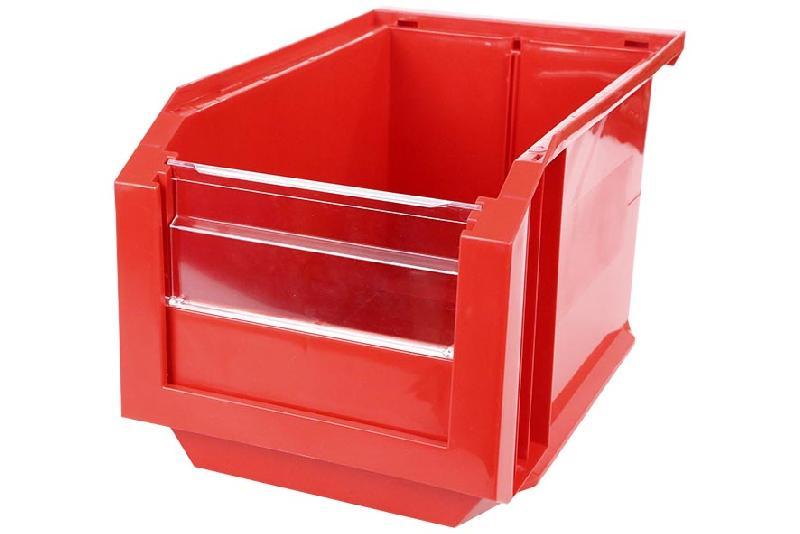 Bac Européan 11L Rouge avec Volet Abattant - 5046050