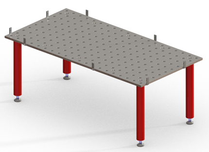 Table de soudage ponctuelle hobbyline - Table electrique osteopathie occasion ...