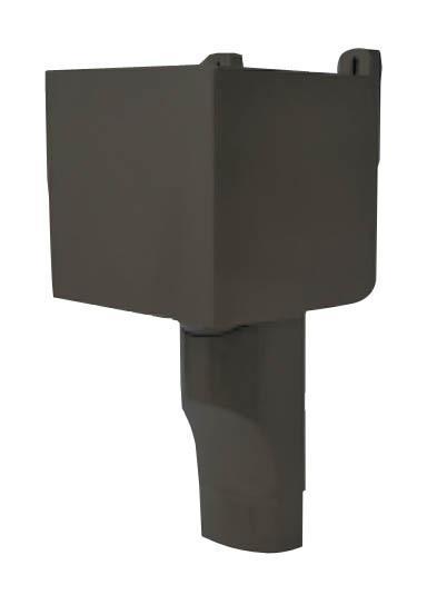 bo te a eau tube e p 90x56 marron nicoll comparer les prix de bo te a eau tube e p 90x56. Black Bedroom Furniture Sets. Home Design Ideas