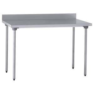 table inox adossee 1000x700x900 mm sans etagere. Black Bedroom Furniture Sets. Home Design Ideas