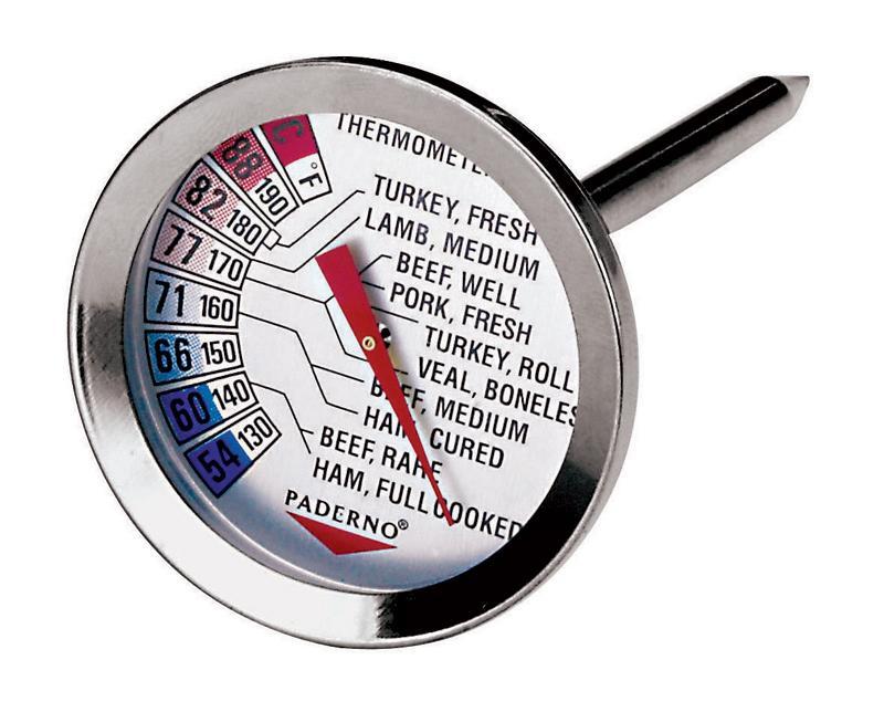 THERMOMÈTRE À RÔTI - DE +54°C À +88°C - THERMOMÈTRE - PADERNO
