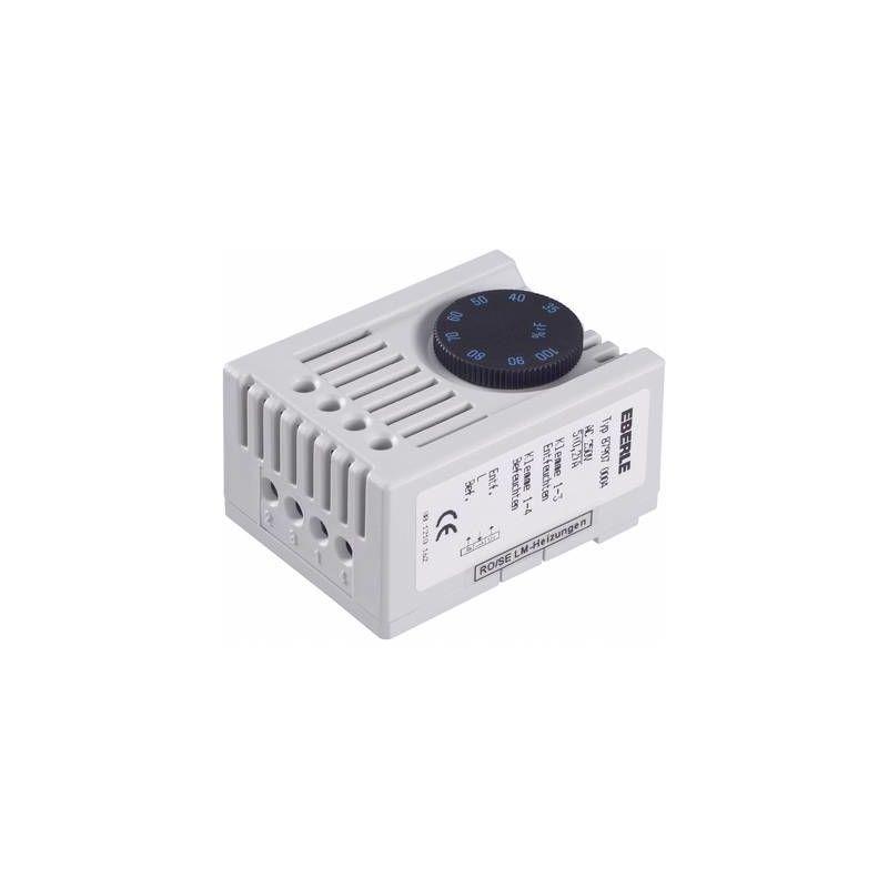 HYGROSTAT D'ARMOIRE SSHYG 87907 0004 000 230 V/AC 1 INVERSEUR (RT) (L X L X H) 46 X 34.5 X 67 MM 1 PC(S) Q63689 - EBERLE