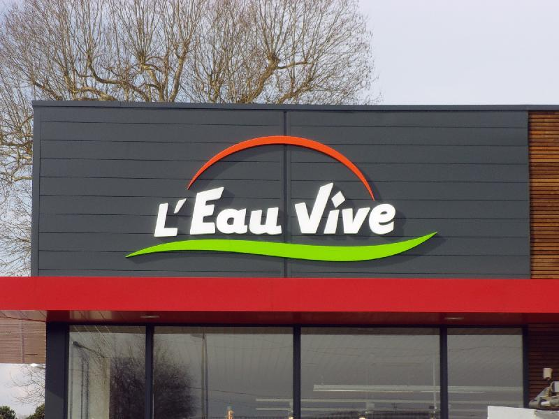 Panneaux d'affichage extérieur enseigne lumineuse led