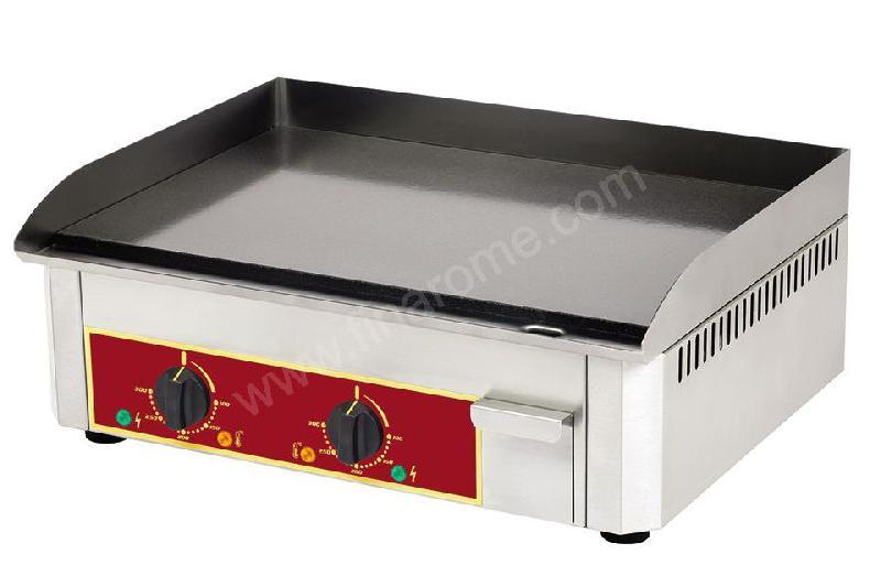 Plancha professionnelle lectrique en email lisse roller - Rotissoire professionnelle roller grill ...