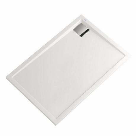 receveur de douche acrylique blanc 120x80x3cm sigma comparer les prix de receveur de douche. Black Bedroom Furniture Sets. Home Design Ideas