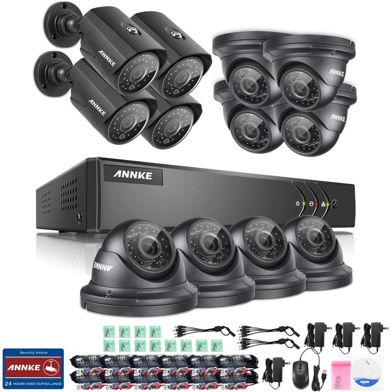 ensemble de vid osurveillance annke achat vente de ensemble de vid osurveillance annke. Black Bedroom Furniture Sets. Home Design Ideas
