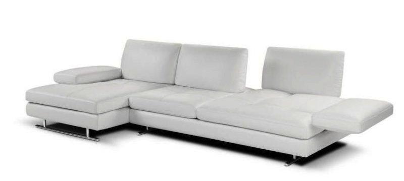 canape d 39 angle extensible 313cm venere de nicoletti home cuir vachette gauche. Black Bedroom Furniture Sets. Home Design Ideas