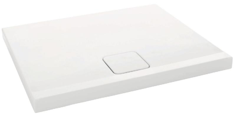 Receveur Douche Odeon Up Extra Plat 100x80 Antiderapant Blanc Ref