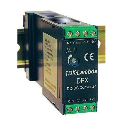 CONVERTISSEUR DC/DC POUR RAIL DIN 15 V/DC 1 000 MA 15 W TDK-LAMBDA DPX-15-48WS-15