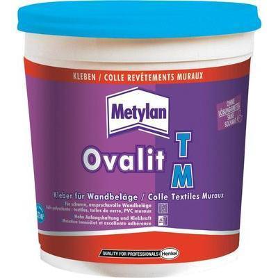COLLE REVÊTEMENTS MURAUX METYLAN OVALIT TM 750 G