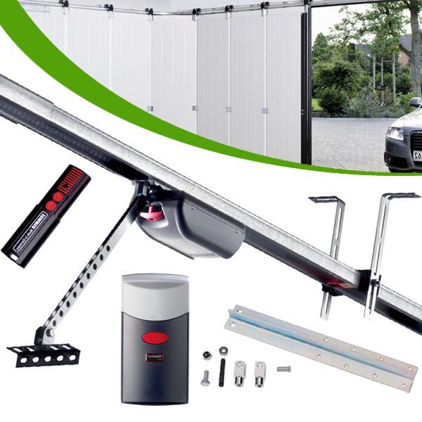 Motorisation porte garage sectionnelle lat rale 7 05m for Porte sectionnelle garage comparer les prix