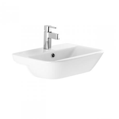 vasque semi encastrable 54cm look 134380 comparer les. Black Bedroom Furniture Sets. Home Design Ideas