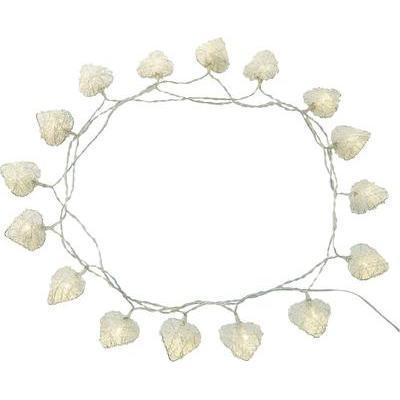 Guirlande lumineuse motifs cur ampoule led polarlite lba - Guirlande lumineuse led a piles 10 ampoules ...