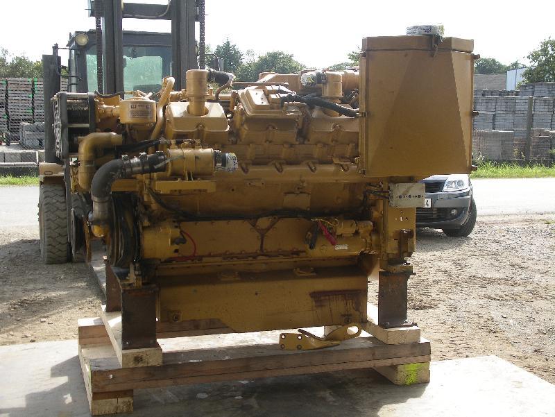 moteur marin caterpillar 3412e
