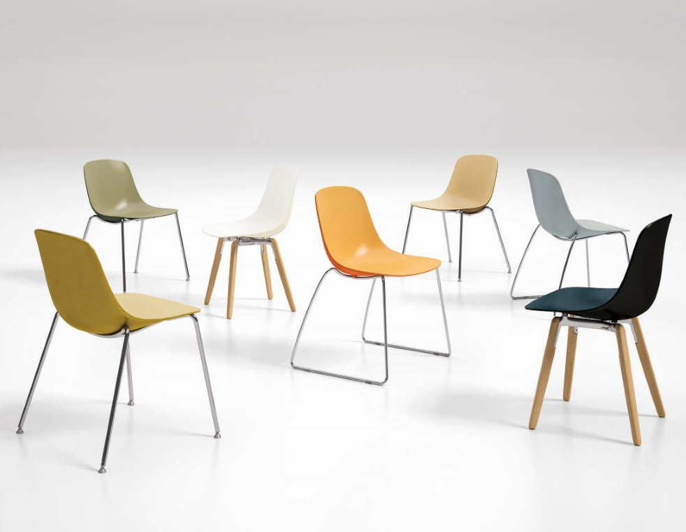 Chaise pure-loop, polypro