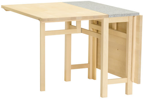 Table pliante ref table bohus for Table pliante avec rangement
