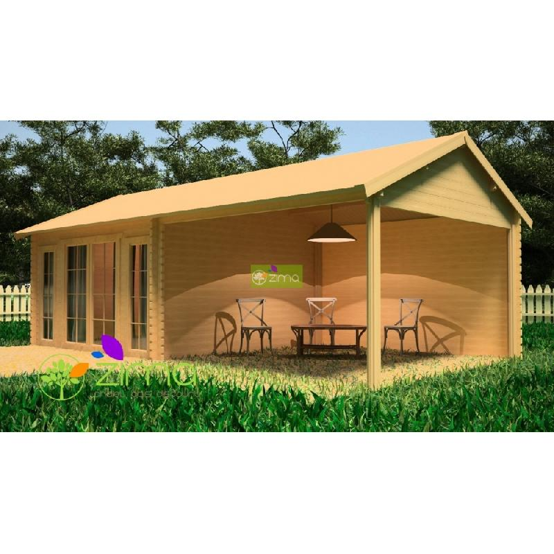 zima produits chalets en bois. Black Bedroom Furniture Sets. Home Design Ideas