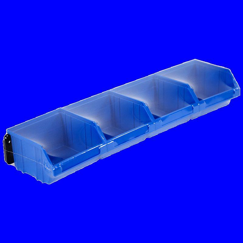 Kit 4 Bacs Eco 1L avec Barre 50cm - 5161029