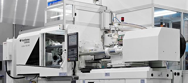 Presses à injecter pour plastique électrique l'intelect - ultra-précise