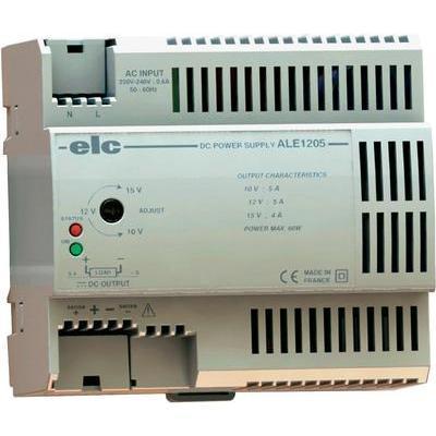 ALIMENTATION 12 V/DC 5 A 60 W ELC ALE1205