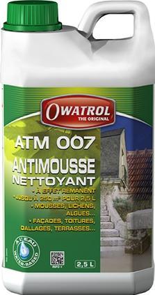 Atm 007 - anti verdissures nettoyant à effet rémanent