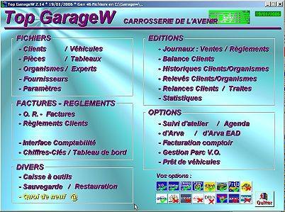 Logiciel gestion garage for Gestion garage automobile