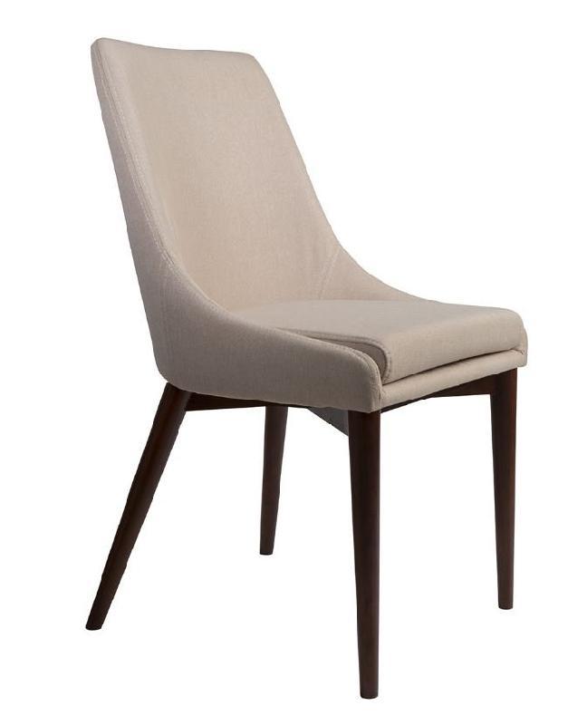dutchbone chaise juju tissu beige coutures sellier comparer les prix de dutchbone chaise juju. Black Bedroom Furniture Sets. Home Design Ideas