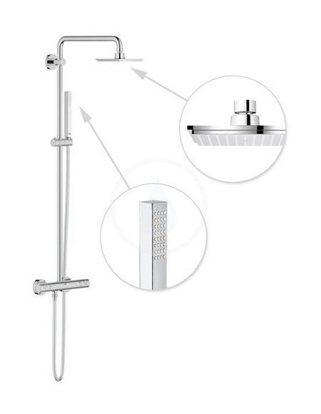 colonnes de douches grohe achat vente de colonnes de douches grohe comparez les prix sur. Black Bedroom Furniture Sets. Home Design Ideas