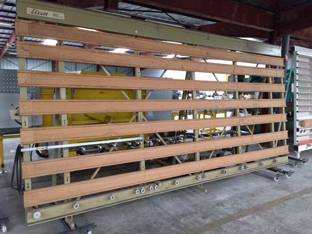 scie a panneaux verticale manuelle elcon type rs 215. Black Bedroom Furniture Sets. Home Design Ideas