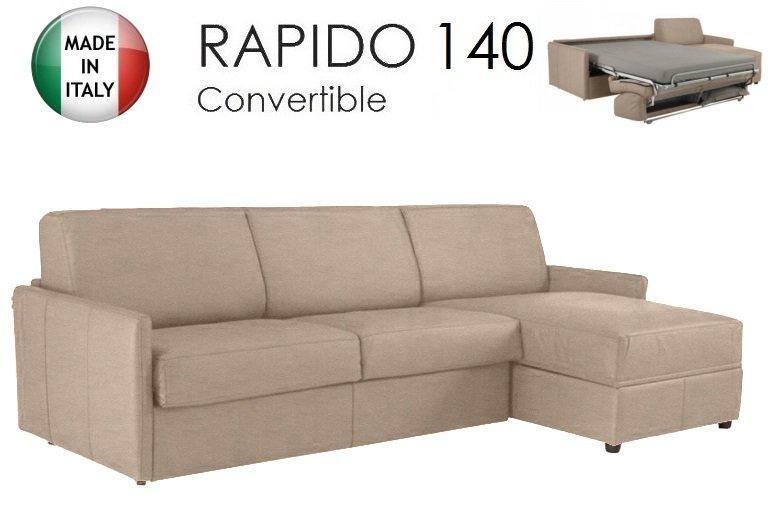 canape d 39 angle sun convertible ouverture rapido 140cm. Black Bedroom Furniture Sets. Home Design Ideas