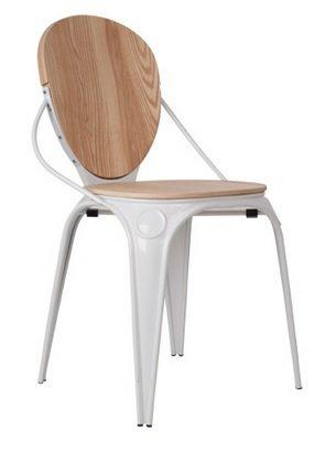 Zuiver chaise louix blanche for Chaise zuiver
